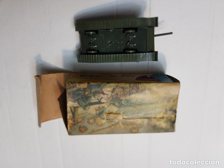 Modelos a escala: EKO VEHICULO MILITAR TANQUE T-34 RUSO escala 1:88 primera generación ref.4001 en caja original - Foto 5 - 247218685
