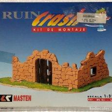 Modelos a escala: JUEGO DE CONSTRUCCIÓN RUIN CRASH RC-2. Lote 248932270