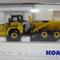 Modelli in scala: KOMATSU HM 250 VOLQUETE ARTICULADO NUEVO ESCALA 1:50. Lote 251881495