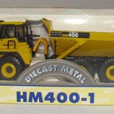 Modelli in scala: KOMATSU HM 400-1 VOLQUETE ARTICULADO NUEVO. Lote 251881785