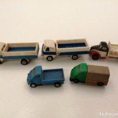 Modèles réduits: MINI CARS LOTE 5 CAMIONES, DIFERENTES MODELOS. Lote 252334670
