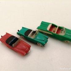 Modèles réduits: 3 COCHES MINI CARS DESCAPOTABLES, (2 SEAT SERRA Y 1 FORD EDSEL). Lote 252335330