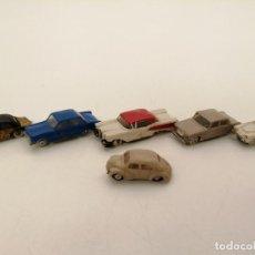 Modèles réduits: MINI CARS, LOTE 6 COCHES, SEAT, FORD, RENAULT, ETC. (TODOS DIFERENTES). Lote 252337500