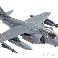 Modelos a escala: EXACTA MAQUETA METÁLICA DEL CAZA ESPAÑOL AV-8B HARRIER II PLUS. EN SU CAJA, NUEVO. Lote 252485535