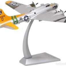Modelos a escala: GIGANTESCA MAQUETA METÁLICA DEL SUPERBOMBARDERO B-17G -FORTALEZA VOLANTE- PINTURA PLATA. A ESTRENAR. Lote 252540925
