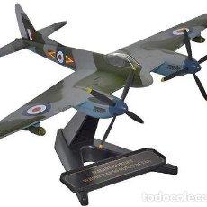 Modelos a escala: CAZA METAL DE HAVILLAND DH103 HORNET F3 WB909, RAF KAI TAK , 1954. A ESTRENAR. Lote 252544930