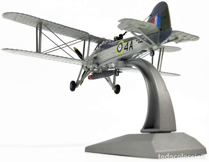 Modelos a escala: Maqueta en metal del avión de ataque TSR-I Swordfish Torpedo en edicción colecionista. A ESTRENAR - Foto 2 - 252548825