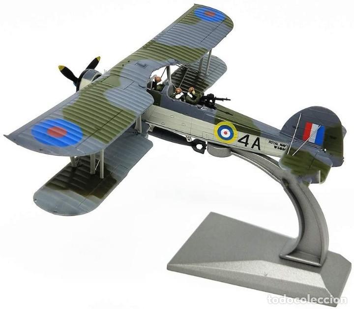 Modelos a escala: Maqueta en metal del avión de ataque TSR-I Swordfish Torpedo en edicción colecionista. A ESTRENAR - Foto 3 - 252548825