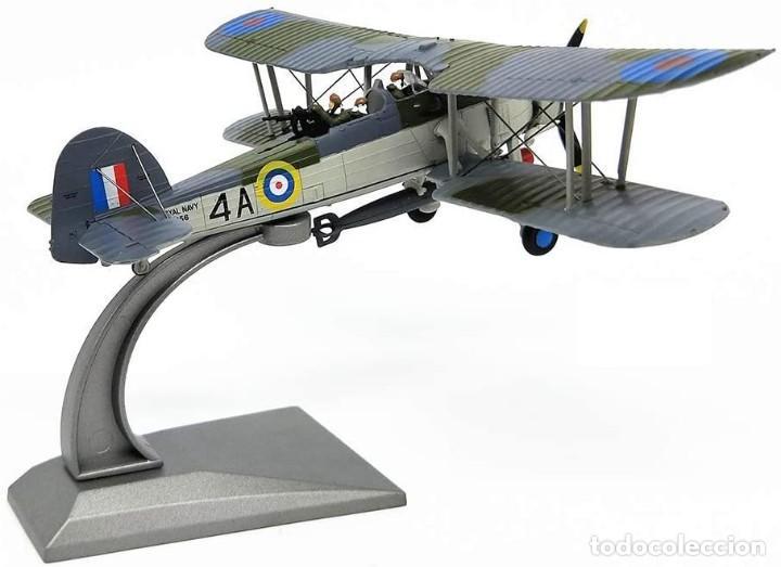 Modelos a escala: Maqueta en metal del avión de ataque TSR-I Swordfish Torpedo en edicción colecionista. A ESTRENAR - Foto 4 - 252548825