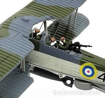 Modelos a escala: Maqueta en metal del avión de ataque TSR-I Swordfish Torpedo en edicción colecionista. A ESTRENAR - Foto 5 - 252548825