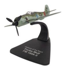 Modelos a escala: MAQUETA EN METAL DEL FOCKE-WULF FW 190A-5, DEFENSA DEL REICH, A ESCALA 1:72. A ESTRENAR. Lote 252747265
