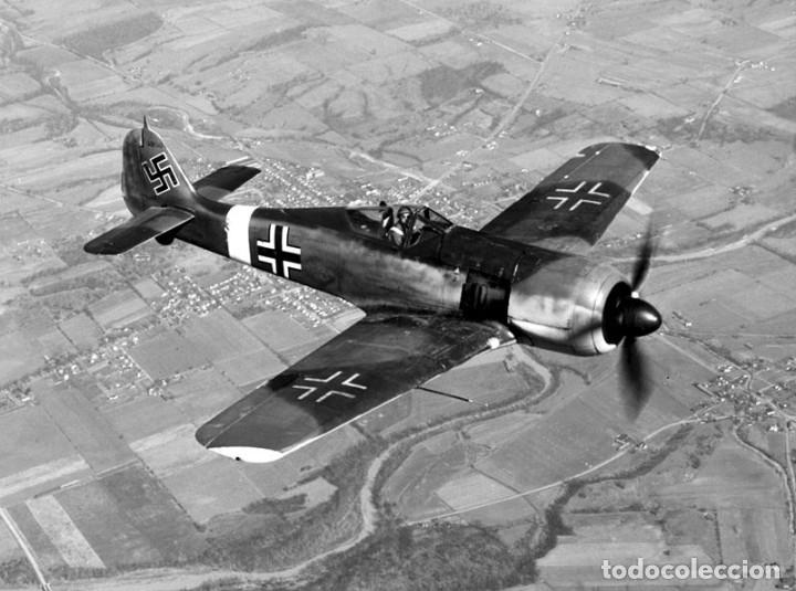 Modelos a escala: Maqueta en metal del Focke-Wulf FW 190A-5, DEFENSA DEL REICH, a escala 1:72. A ESTRENAR - Foto 5 - 252747335