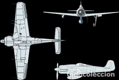 Modelos a escala: Maqueta en metal del Focke-Wulf FW 190A-5, DEFENSA DEL REICH, a escala 1:72. A ESTRENAR - Foto 6 - 252747335