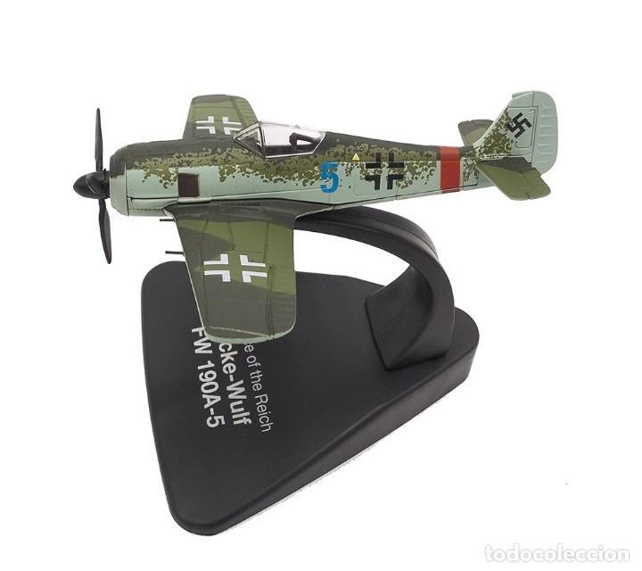 Modelos a escala: Maqueta en metal del Focke-Wulf FW 190A-5, DEFENSA DEL REICH, a escala 1:72. A ESTRENAR - Foto 2 - 252747335