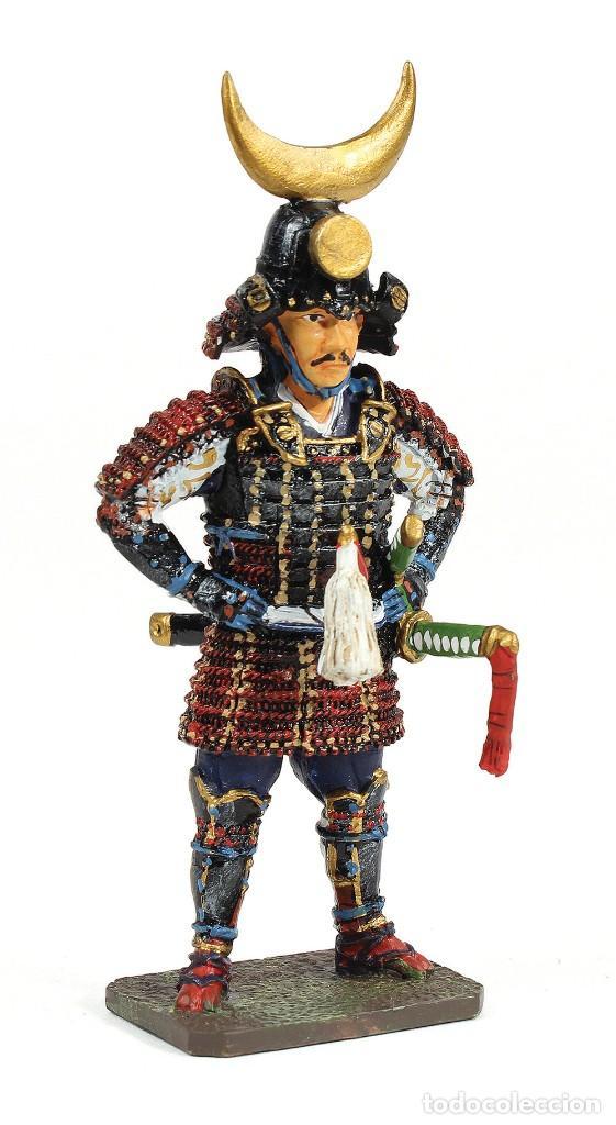 Modelos a escala: Inaba Yoshimichi, 1515-1588, Samurai, 1:30, Figura de de plomo. En su blister sellado, a estrenar. - Foto 3 - 253252650