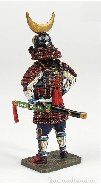 Modelos a escala: Inaba Yoshimichi, 1515-1588, Samurai, 1:30, Figura de de plomo. En su blister sellado, a estrenar. - Foto 2 - 253252650