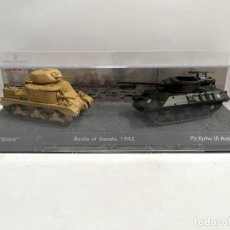 Modelli in scala: SET DOS TANQUES 1:72 WORLD OF TANKS TANQUE DIECAST #11. Lote 254460820