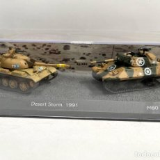 Modelli in scala: SET DOS TANQUES 1:72 WORLD OF TANKS TANQUE DIECAST #06. Lote 254836040
