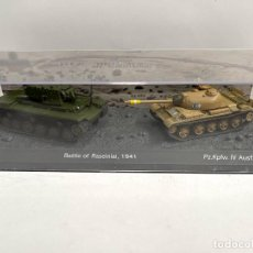 Modelli in scala: SET DOS TANQUES 1:72 WORLD OF TANKS TANQUE DIECAST #15. Lote 254836090