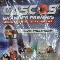 Modelos a escala: CASCOS FORMULA 1 GP. DAVID COULDHARD. Lote 257548960