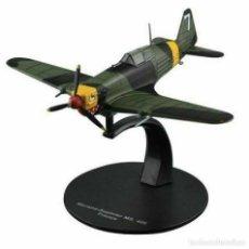 Modelos a escala: MORANE-SAULNIER MS.406 FRANCE WWII 1:72 AVIÓN DIECAST ALTAYA #20. Lote 257636205