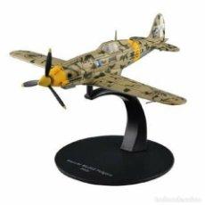 Modelos a escala: MACCHI MC202 FOLGORE ITALY WWII 1:72 AVIÓN DIECAST ALTAYA #29. Lote 257636220