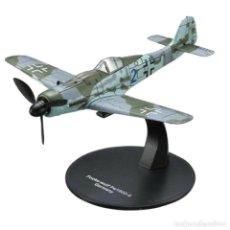 Modelos a escala: FOCKE WULF FW 190D-9 GERMANY WWII 1:72 AVION DIECAST ALTAYA N15. Lote 257636330