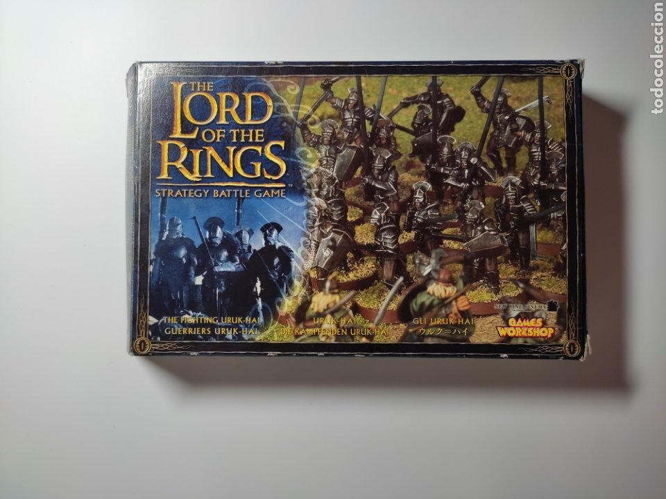 THE LORD OF THE RINGS. (Juguetes - Modelos a escala)