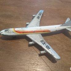 Modelos a escala: ORIGINAL AVIÓN DE JUGUETE, DE METAL, BOEING 747,REF.361,MADE IN SPAIN. Lote 259850395