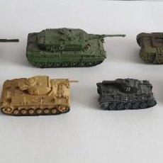 Modelli in scala: LOTE 7 TANQUES DE PLOMO. Lote 259870425