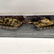 Modelli in scala: SET DOS TANQUES 1:72 WORLD OF TANKS TANQUE DIECAST #08. Lote 259941940