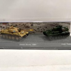 Modelli in scala: SET DOS TANQUES 1:72 WORLD OF TANKS TANQUE DIECAST #09. Lote 259941960
