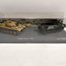 Modelli in scala: SET DOS TANQUES 1:72 WORLD OF TANKS TANQUE DIECAST #13. Lote 259941965