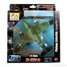 Modelos a escala: EASY MODEL 1:72 • MESSERSCHMITT ME 262A-1A (CAPTURADO USA, PAX RIVER 1946) • MODELO MONTADO 1/72. Lote 261875650