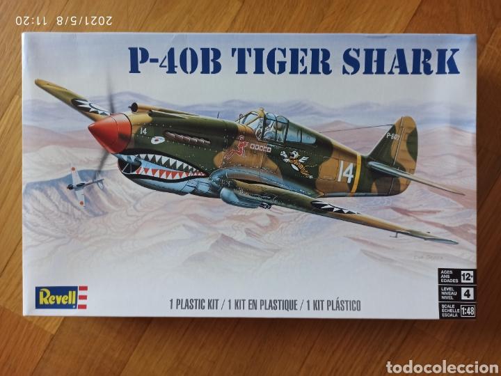 MAQUETA AVION P-40 TIGER REVELL 1/48 (Juguetes - Modelos a escala)