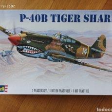Modelli in scala: MAQUETA AVION P-40 TIGER REVELL 1/48. Lote 261940445