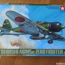 Modelli in scala: MAQUETA AVION MITSIBISHI ZERO TAMIYA 1/48. Lote 261940855