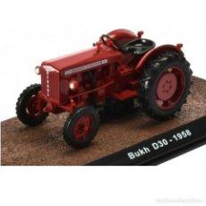 Modelos a escala: BUKH D30 1958 1:32 TRACTOR AGRÍCOLA ATLAS DIECAST. Lote 262741835