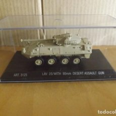 Modelli in scala: ARMOUR COLLECTION ---- LAV25/WITH 90 MM DESERT ASSAULT GUN ---- 1/72. Lote 265775074