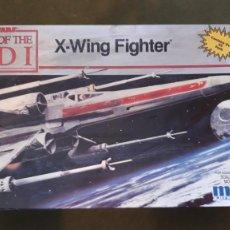 Modèles réduits: STAR WARS MPC X-WING FIGHTER MAQUETA EDICIÓN CONMEMORATIVA - EL REGRESO DEL JEDI. Lote 268414649