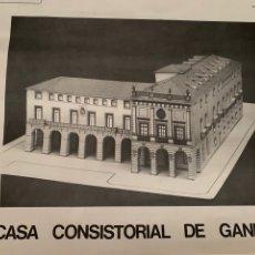 Modelos a escala: MAQUETA AYUNTAMIENTO DE GANDÍA.. Lote 271983588