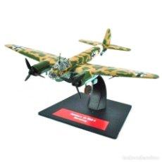 Modèles réduits: L03 JUNKERS JU 88A-4 GERMANY 1:144 AVION PLANE BOMBARDEROS WWII. Lote 272941113