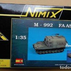 Modelli in scala: MAQUETA DEL M-992 FA ASV 1:35,EJÉRCITO ESPAÑOL, NIMIX 3502. Lote 274323893