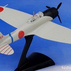Modelos a escala: MAQUETA EN METAL INYECTADO DEL BOMBARDERO JAPONES AICHI D3A . ESCALA 1:100. EN SU CAJA, NUEVO. Lote 252430120