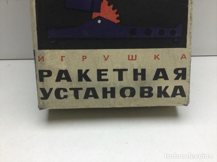 Modelos a escala: LANZADOR DE COHETES DE JUGUETE - FABRICADO EN POLONIA - RUSIA AÑOS 70 FUNCIONA - Foto 3 - 277680948