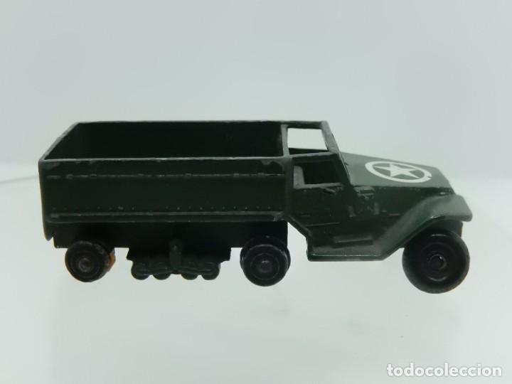 Modelos a escala: Pequeño camión militar. M3 Personnel Carrier. Fabricado en Inglaterra por Lesney. - Foto 5 - 278269403