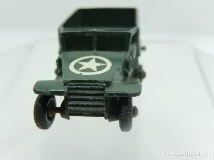Modelos a escala: Pequeño camión militar. M3 Personnel Carrier. Fabricado en Inglaterra por Lesney. - Foto 7 - 278269403