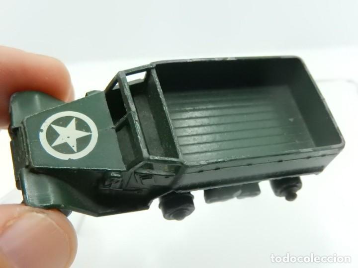 Modelos a escala: Pequeño camión militar. M3 Personnel Carrier. Fabricado en Inglaterra por Lesney. - Foto 10 - 278269403