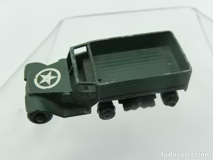 Modelos a escala: Pequeño camión militar. M3 Personnel Carrier. Fabricado en Inglaterra por Lesney. - Foto 11 - 278269403