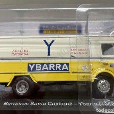 Modelos a escala: CAMION BARREIROS SAETA CAPITONÉ YBARRA - 1968 (ESCALA 1:43) IXO,REPARTO,ACEITES,ACEITUNAS,N49. Lote 278683623